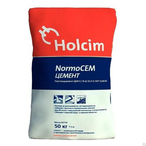 Цемент Normo CEM 400 Holcim, 50 кг