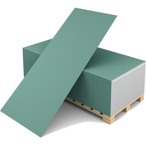 Гипсокартон влагостойкий KNAUF, 2500Х1200Х9.5 мм