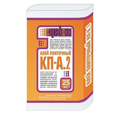 Клей плиточный Сартэксим КПА-2, 25 кг
