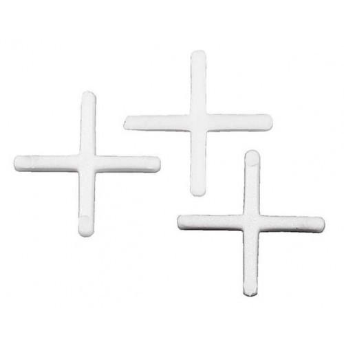 Крестики для кафельной плитки 2.5 мм, 40 шт.