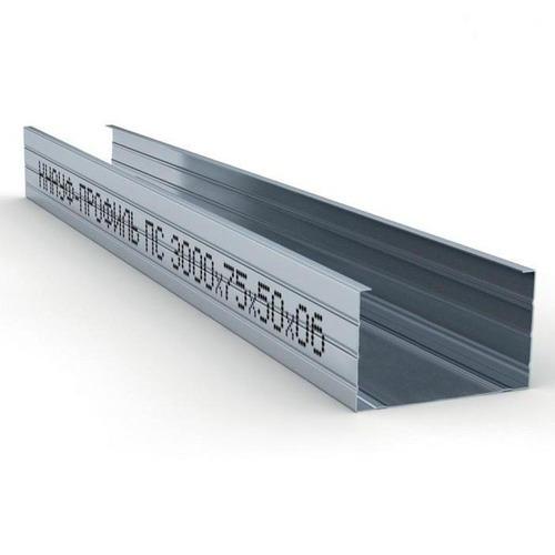Профиль стоечный ПС-4 KNAUF, 75*50*3000*0,6 мм