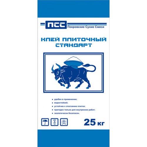 Клей плиточный Стандарт ПСС , 25 кг