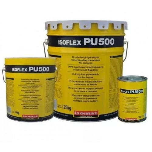 Однокомпонентная полиуретановая гидроизоляционная мембрана ISOFLEX PU 500, 25 кг.