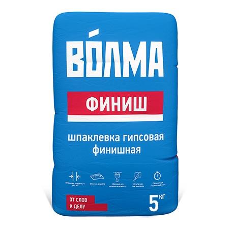 Шпатлевка гипсовая ВОЛМА-Финиш, 5 кг