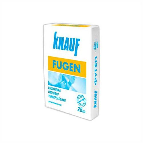 Шпатлевка гипсовая Фуген KNAUF, 25 кг