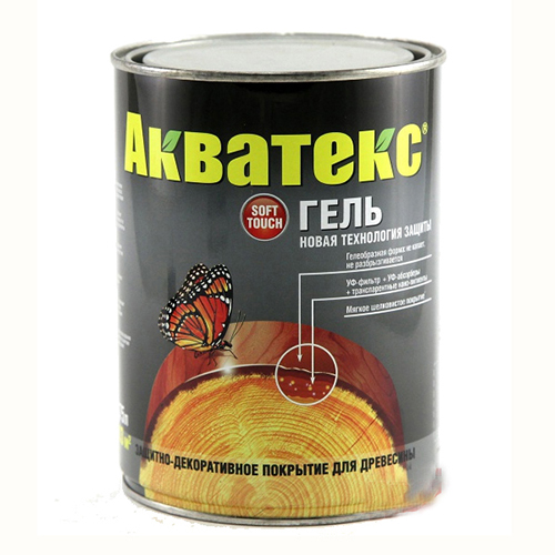 АКВАТЕКС-гель (дуб), 0.75 л.