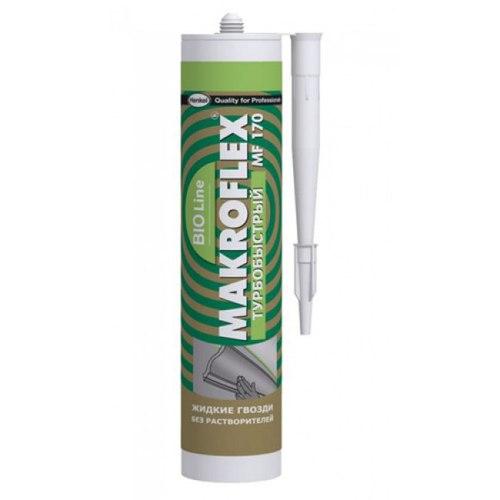 Жидкие гвозди MAKROFLEX MF170 турбобыстрый, 400 г.