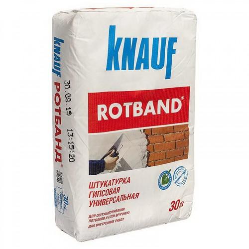 Штукатурка Ротбанд KNAUF, 30 кг