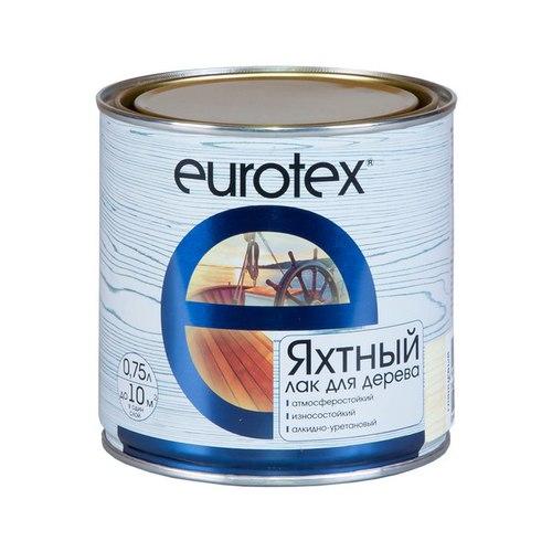 Лак яхтный EUROTEX глянцевый, 0,75 л.