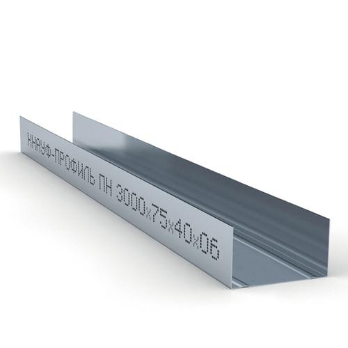 Профиль направляющий ПН-4 KNAUF, 75*40*3000*0,6 мм
