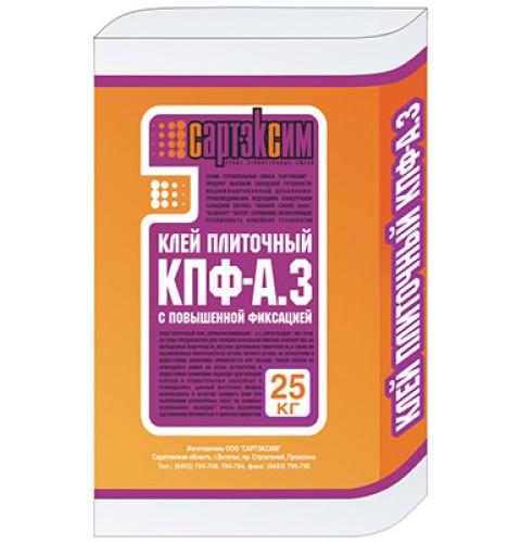 Клей плиточный Сартэксим КПФ-А.3, 25 кг