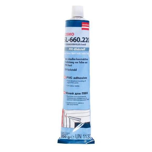 Клей сверхпрочный белый Cosmofen жидкий, 200 г