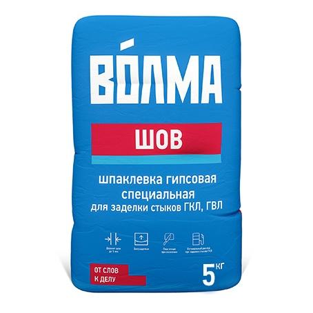 Шпатлевка гипсовая Волма-Шов, 5 кг