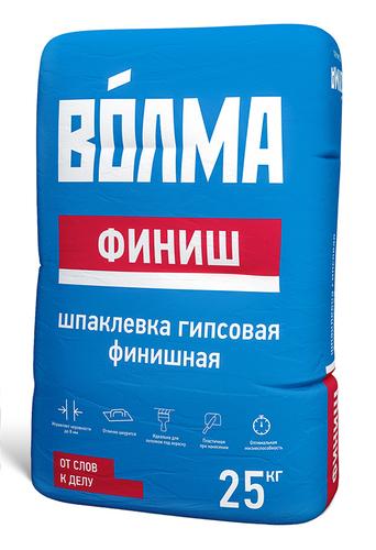 Шпатлевка гипсовая Волма-Финиш, 25 кг