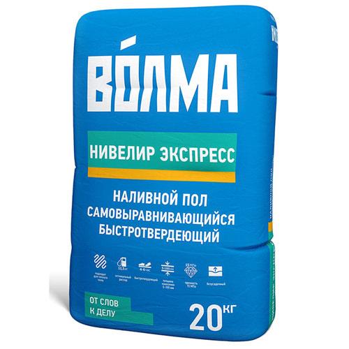 Пол наливной ВОЛМА-Нивелир Экспресс, 20 кг